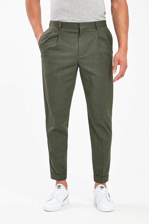 Next Twin Pleat Formal Trousers