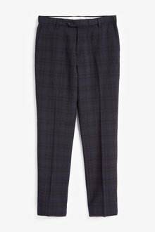 Next Check Slim Fit Trousers-Slim Fit - 255909
