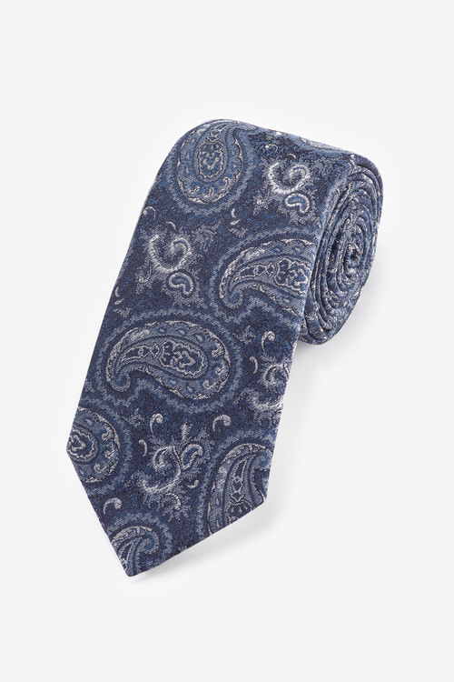 Next Paisley 'Made In Italy' Signature Silk Tie