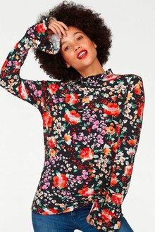 Urban Floral Print Top - 256004