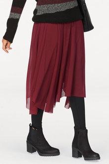 Urban Mesh Midi Skirt - 256006