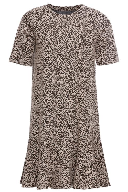 Urban Printed Short Sleeve Dress