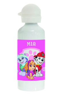 Personalised Paw Patrol Pup Power Stainless Steel Drink Bottle - 256012