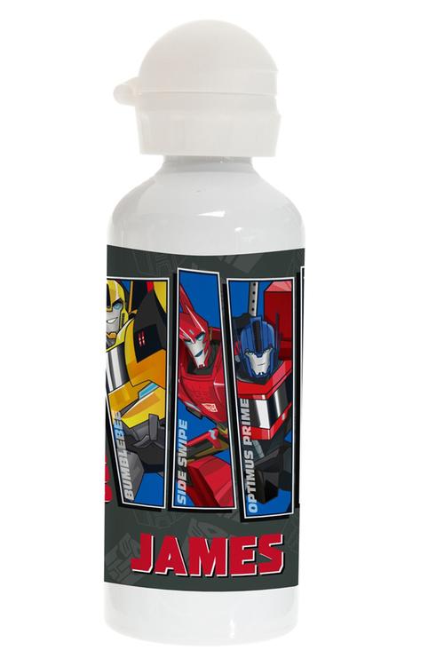 Personalised Transformers Stainless Steel Drink Bottle