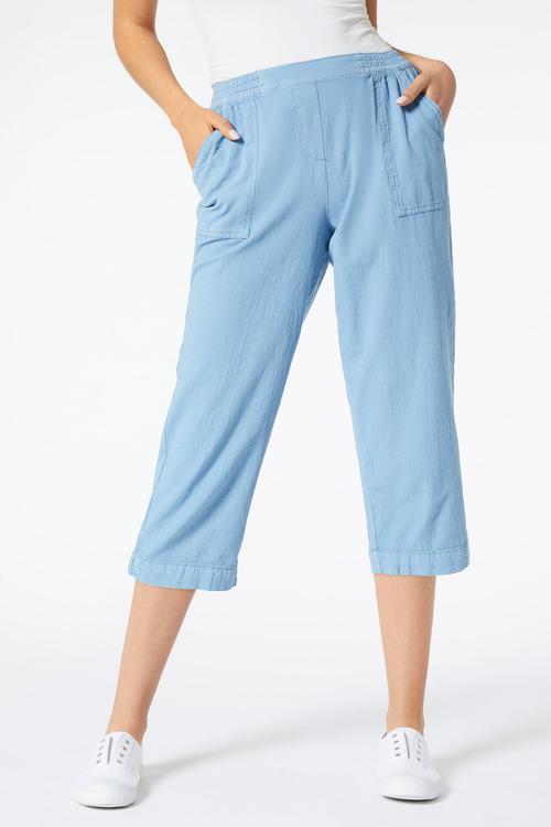 Crop Washer Pant