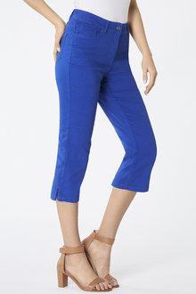 5 Pocket Crop Denim Jeans - 256027