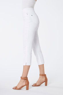 Crop Comfort Denim Jeans - 256029