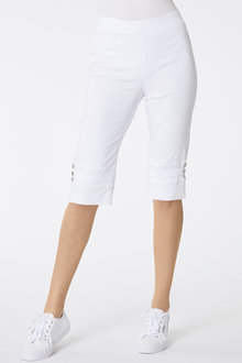 Crop Pedal Pusher Trim Pant - 256039