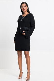 Urban Textured Knit Dress - 256052