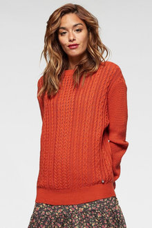 Urban Cable Pattern Pullover - 256071