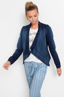 Urban Open Denim Jacket - 256077