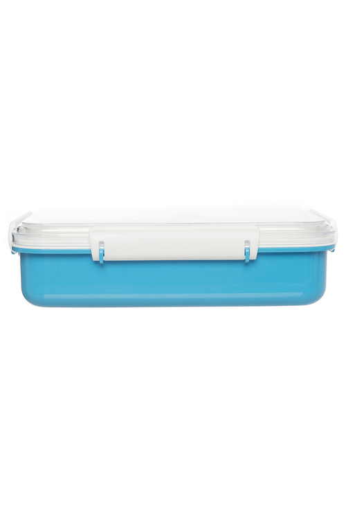 Personalised Rocket Blue Bento Lunch Box