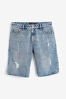Next Ripped Denim Shorts
