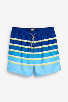 Next Ombre Stripe Swim Shorts - 256097