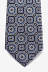 Next Signature Medallion Silk Tie