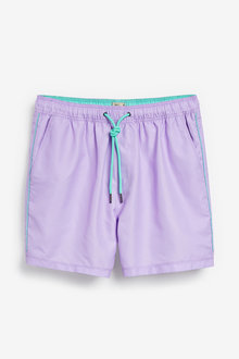 Next Essential Swim Shorts With Piping - 256112