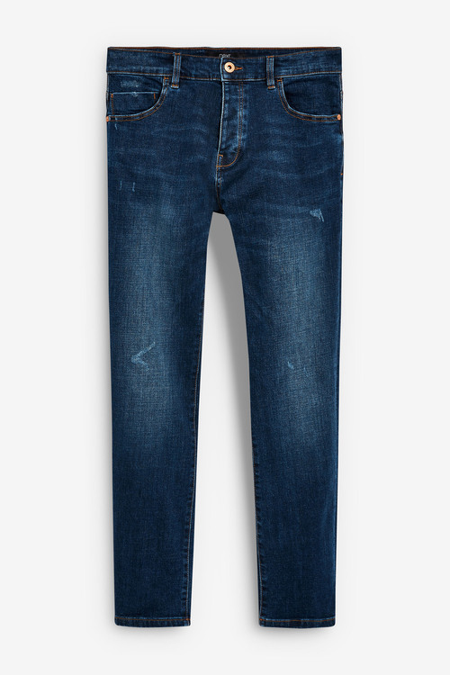 Next Slim Leg Distressed Jeans