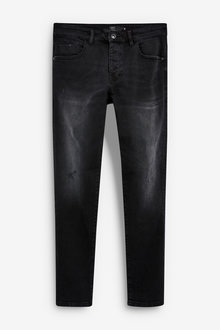 Next Slim Leg Distressed Jeans - 256113
