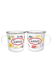 Personalised Alphabet Enamel Mug - 256130