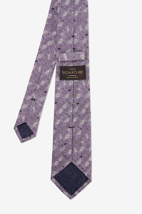 Next Signature Floral 'Made in Italy' Tie
