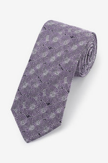Next Signature Floral 'Made in Italy' Tie - 256166