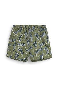 Next Tiger Print Swim Shorts - 256168