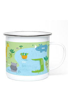 Personalised Safari Enamel Mug - 256185