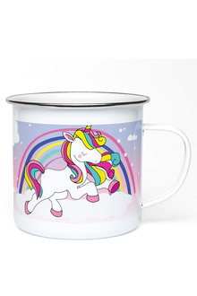 Personalised Unicorn Enamel Mug - 256187