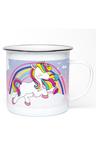Personalised Unicorn Enamel Mug