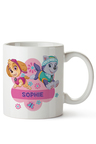Personalised Paw Patrol Pup Power Ceramic Mug