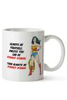 Personalised Wonder Woman Ceramic Mug