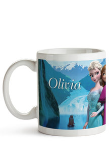 Personalised Frozen Ceramic Mug - 256223