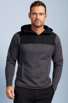 Isobar Half Zip Fleece Hoodie - 256229