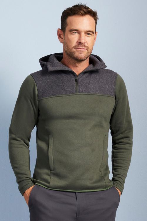 Isobar Half Zip Fleece Hoodie