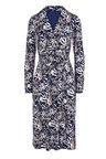 Kaleidoscope Knot Waist Dress