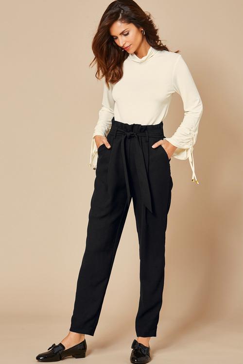 Kaleidoscope Paperbag Waist Trousers