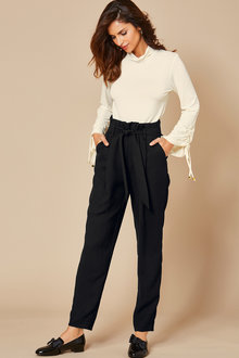 Kaleidoscope Paperbag Waist Trousers - 256436