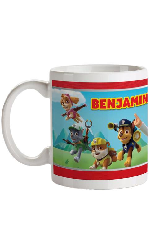 Personalised Paw Patrol Ceramic Mug
