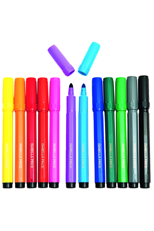 Personalised 12 Pack Markers