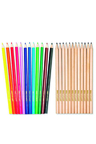 Personalised 24 Pack Coloured Pencils