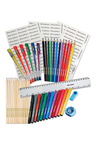 Personalised 145 Piece Stationery Pack Blue