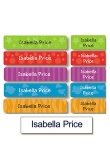 Personalised Daycare Essentials Value Label Pack - 256583