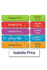 Personalised Daycare Essentials Value Label Pack