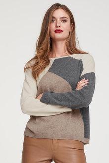 Heine Spliced Pullover - 256598