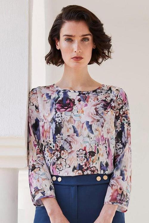Heine Floral Print Top