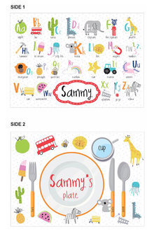 Personalised Alphabet Placemat - 256706