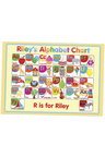 Personalised Alphabet and Numbers Placemat