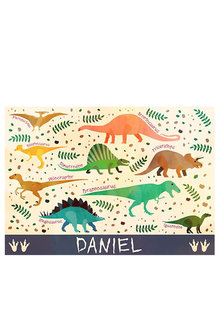 Personalised Which Dino is That? Placemat - 256709