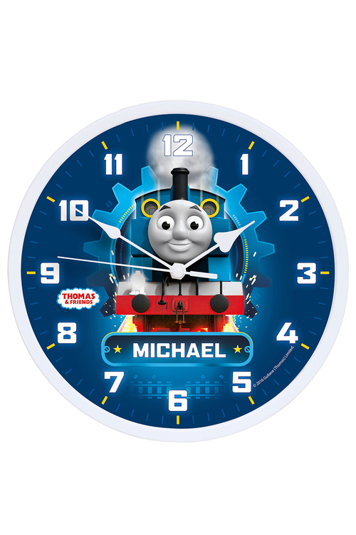Personalised Thomas and Friends Racing Clock