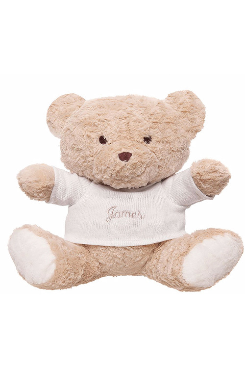 Personalised Plush Teddy Bear with Jumper